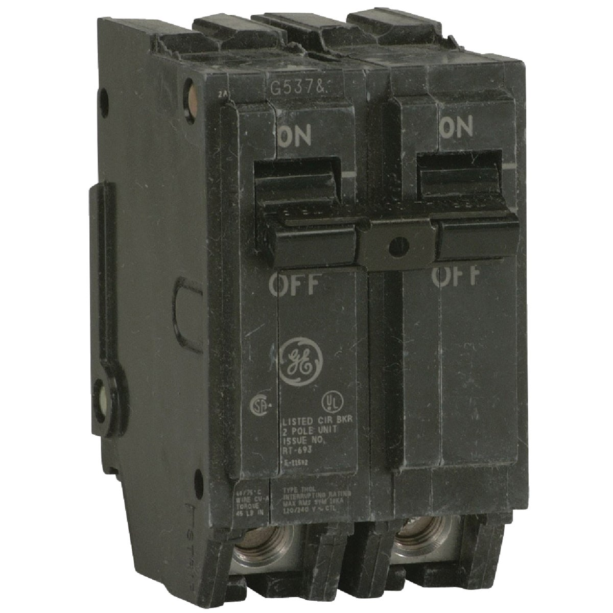 100A 2P CIRCUIT BREAKER - THQL21100 by G E Industrial