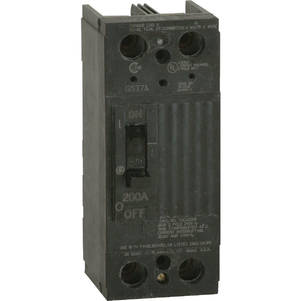200A MAIN BREAKER - TQD22200WL by G E Industrial