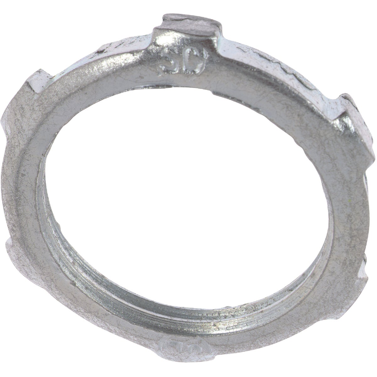 Steel City Reversible Conduit Locknut