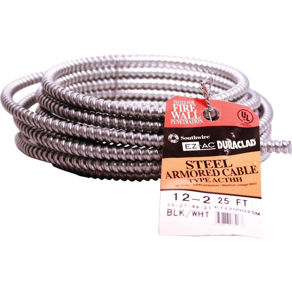 25' 12/2 STL ARMR CABLE - 55274921 by Southwire Company