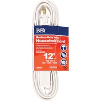 Woods Import 12' 16/2 WHITE EXT CORD IN-PT2162-12X-WH