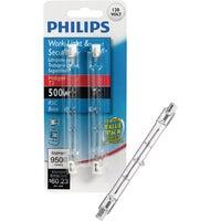 GE Lighting 2PK 500W QZ HALOGEN BULB 97674 Q500T3/HD/S/CD2