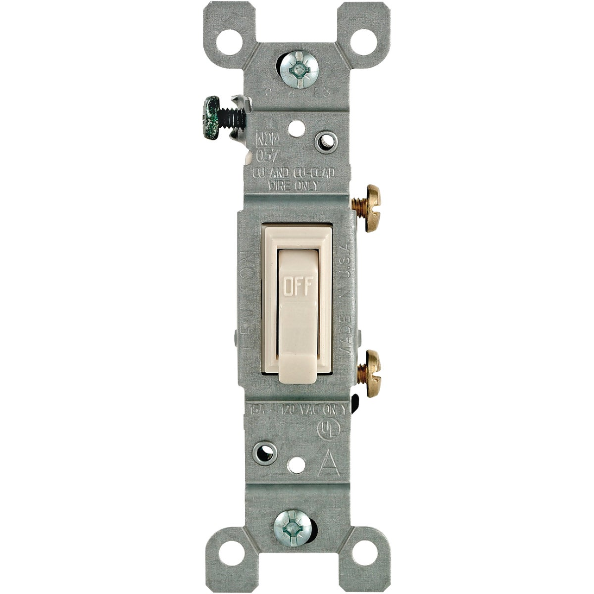 LT ALM 10PK 1TGL SWITCH - M26-01451-2TM by Leviton Mfg Co