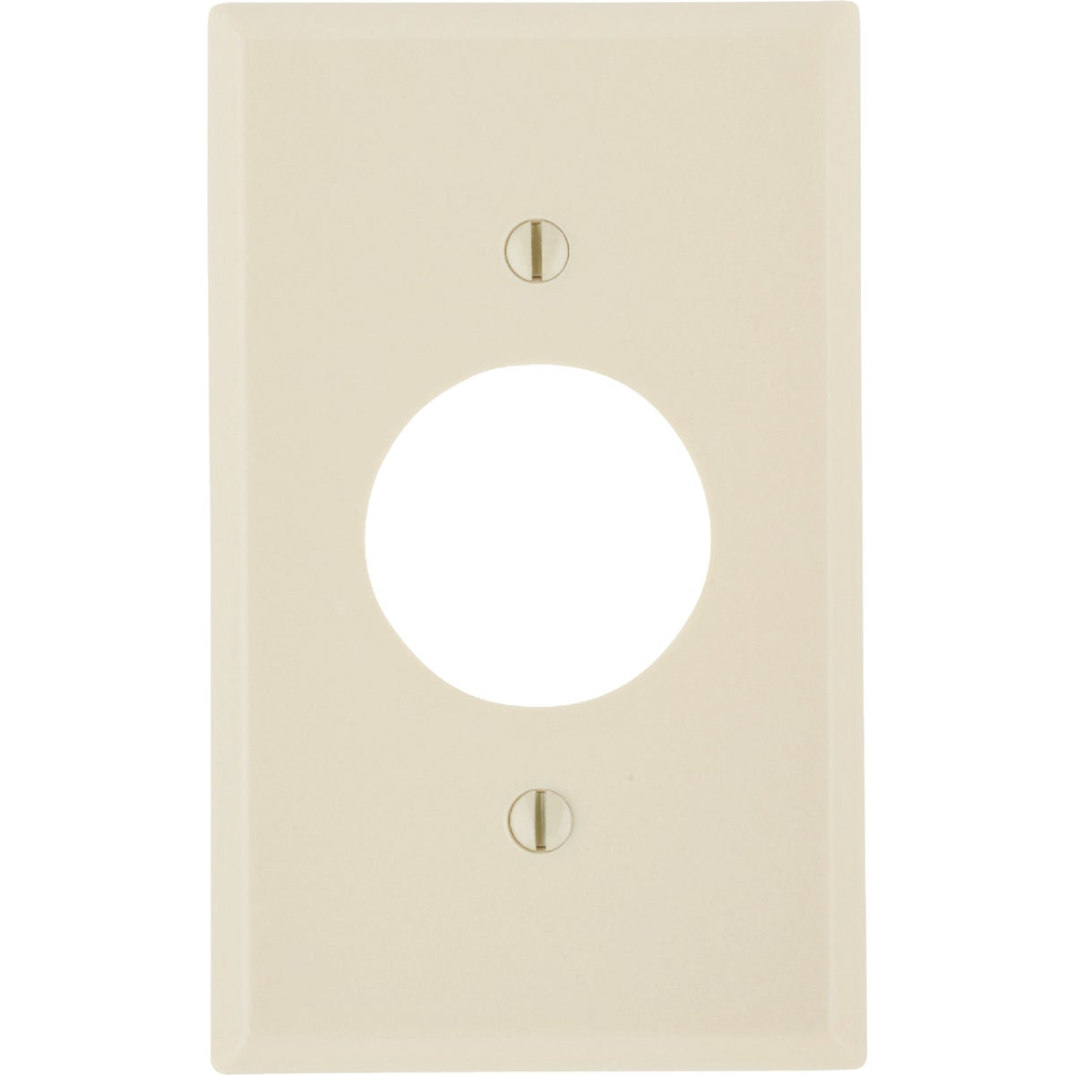 IV 1-OUTLET WALL PLATE - 86004 by Leviton Mfg Co