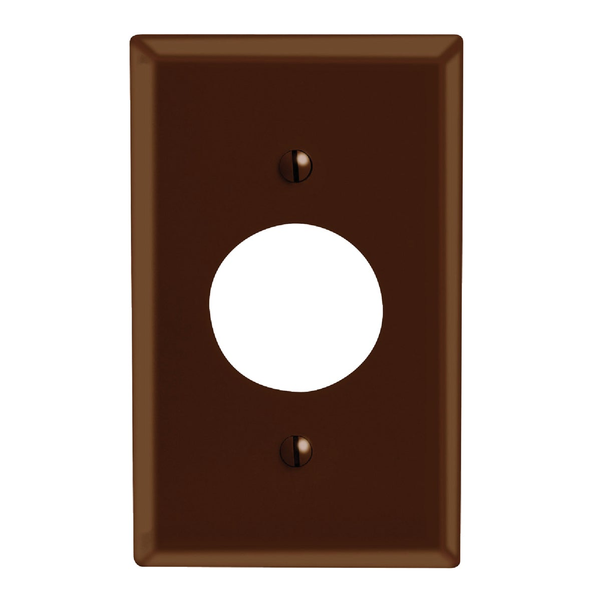 BRN 1-OUTLET WALL PLATE - 85004 by Leviton Mfg Co