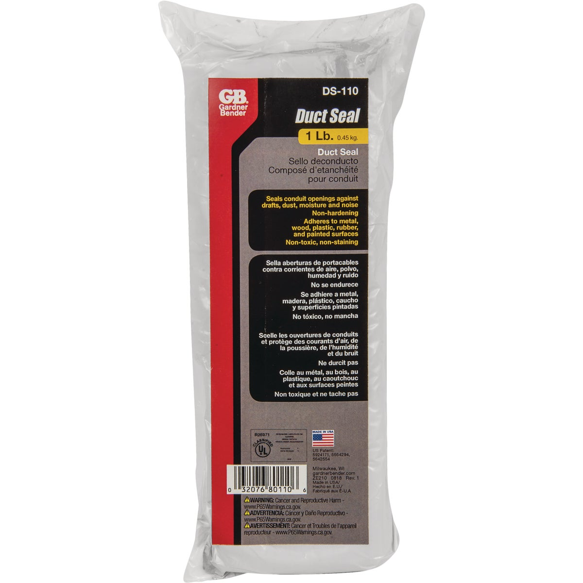 ELECTRICAL DUCT SEALANT - DS-110N by G B Electrical Inc
