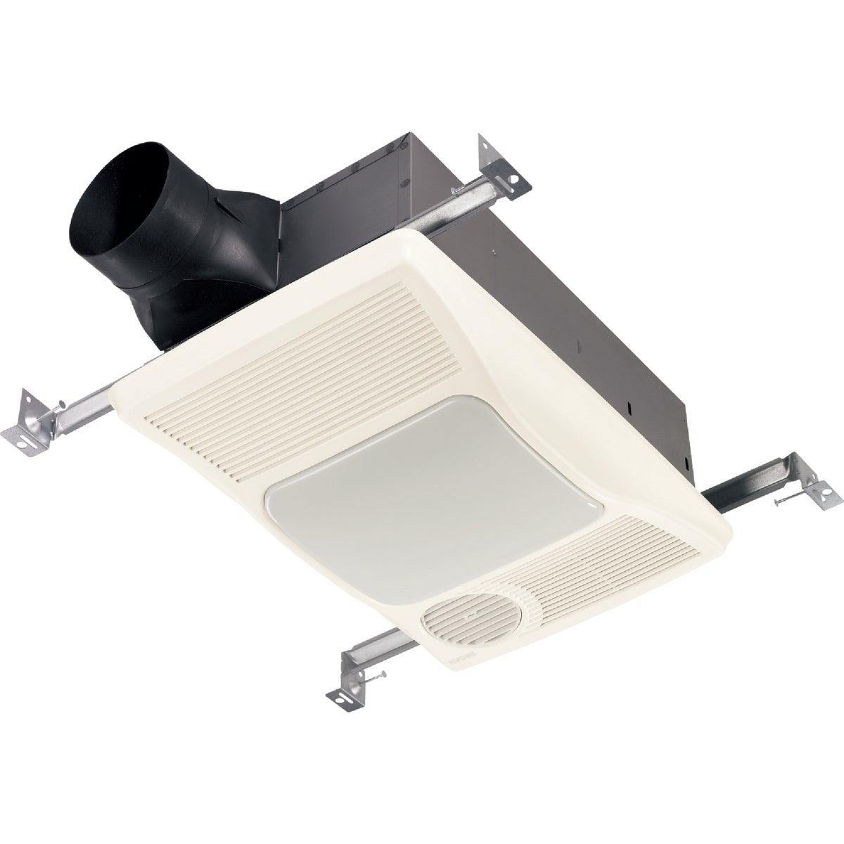100 CFM Incandescent Light/Directional Heater Bath Exhaust Fan, 100HL