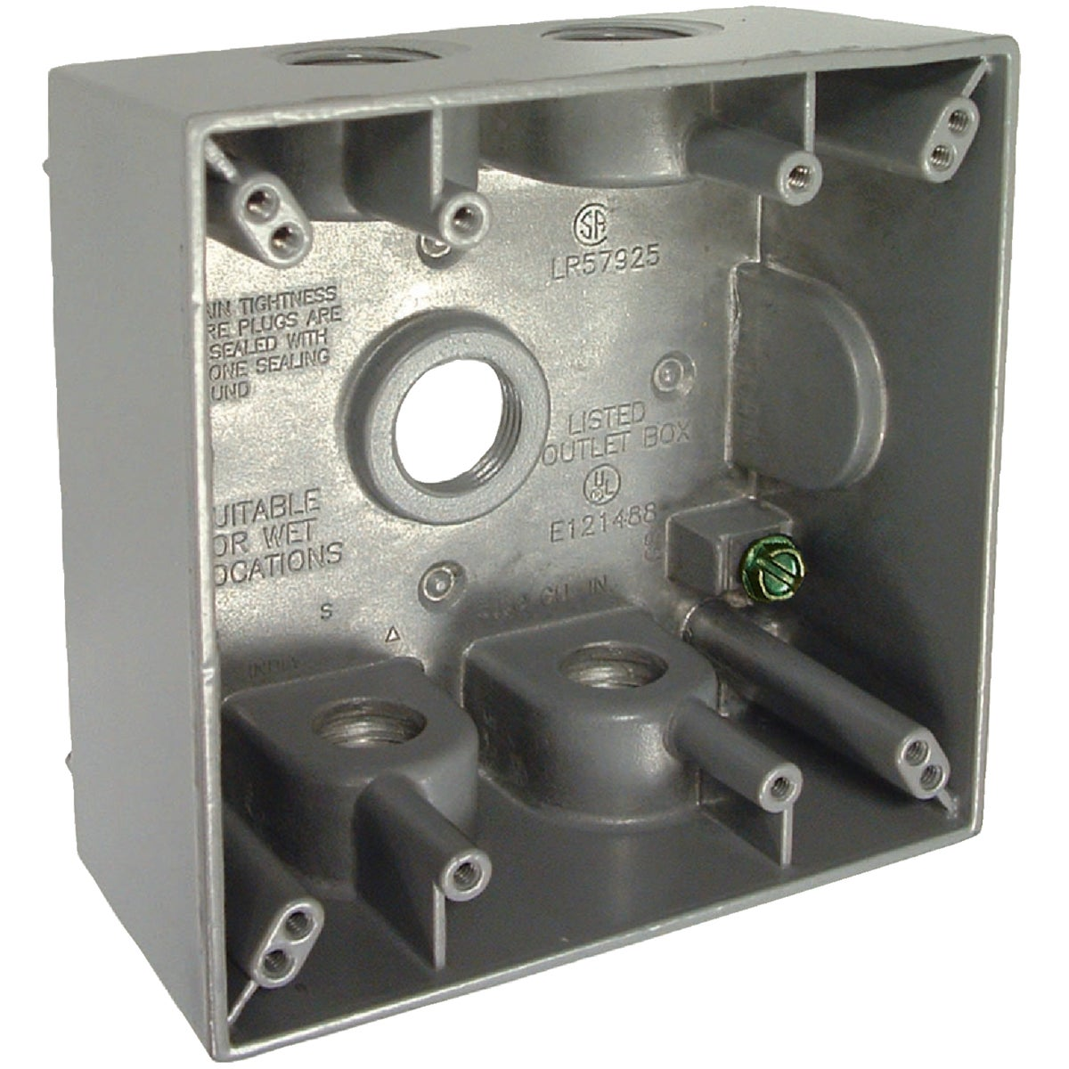 Bell 2-Gang Weatherproof Outdoor Outlet Box