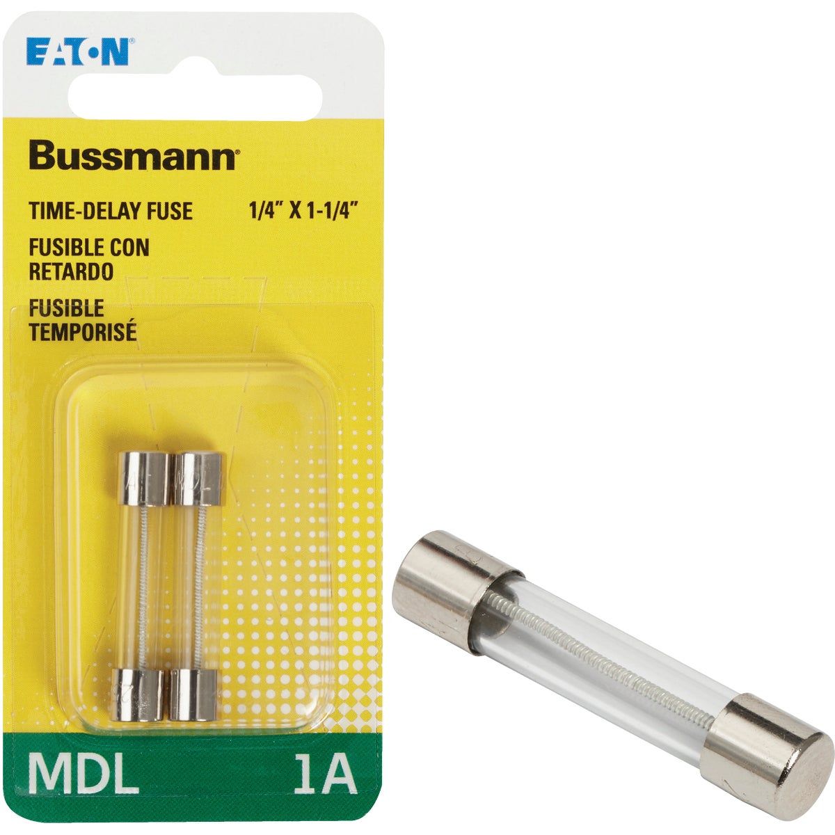 1A ELECTRONIC FUSE - BP/MDL-1 by Bussmann Cooper