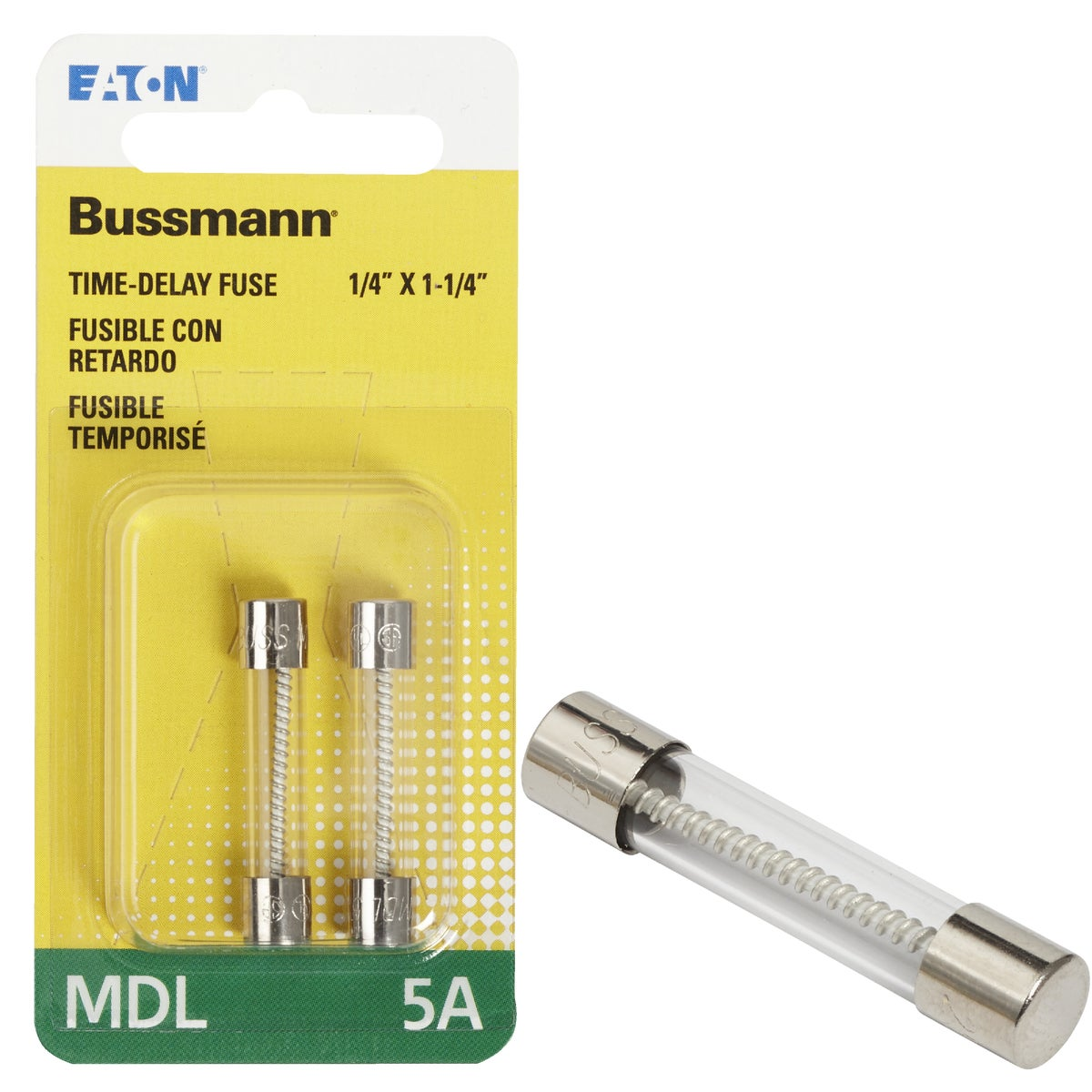 5A ELECTRONIC FUSE - BP/MDL-5 by Bussmann Cooper