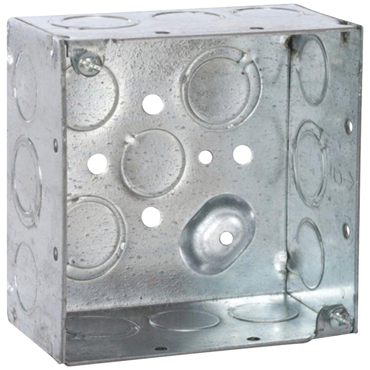 4X4X2-1/8 SQ BOX - 521711/23/4E30 by Thomas & Betts