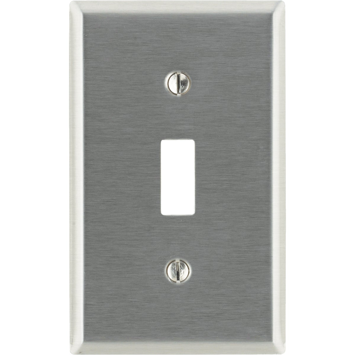SS 1-TOGGLE WALL PLATE - 84001 by Leviton Mfg Co