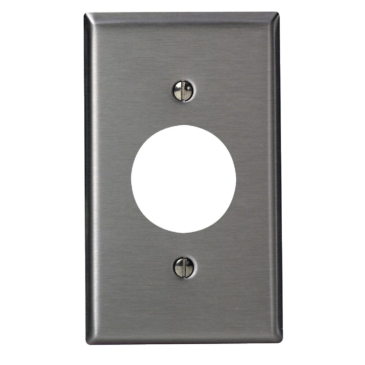 SS 1-OUTLET WALL PLATE - 84004-40 by Leviton Mfg Co