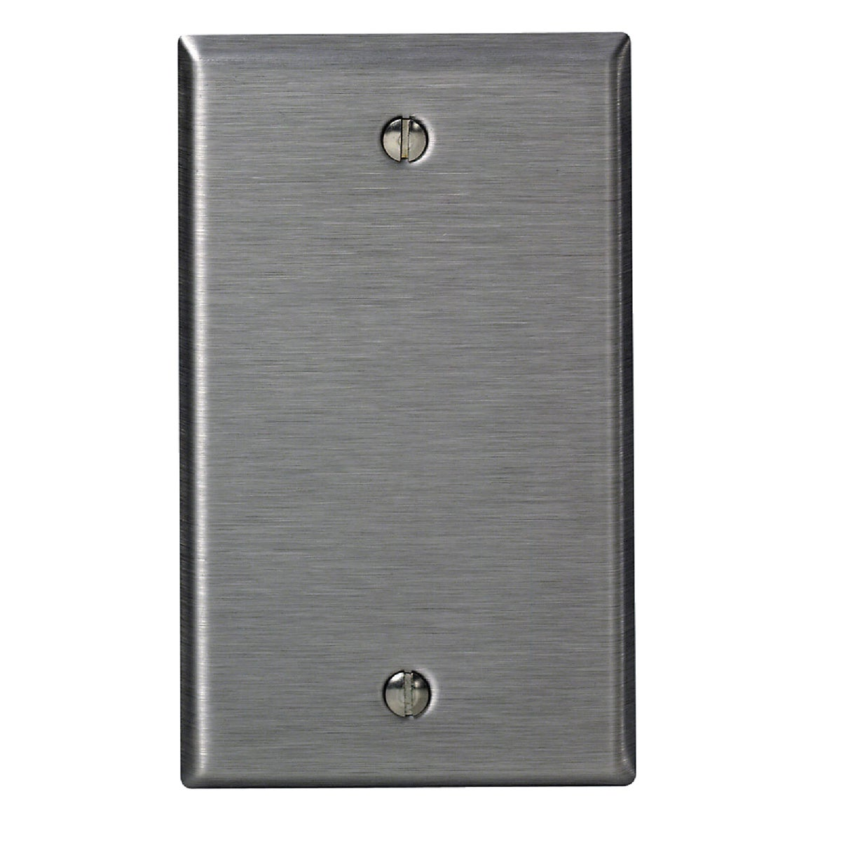 SS BLANK WALL PLATE - 84014 by Leviton Mfg Co