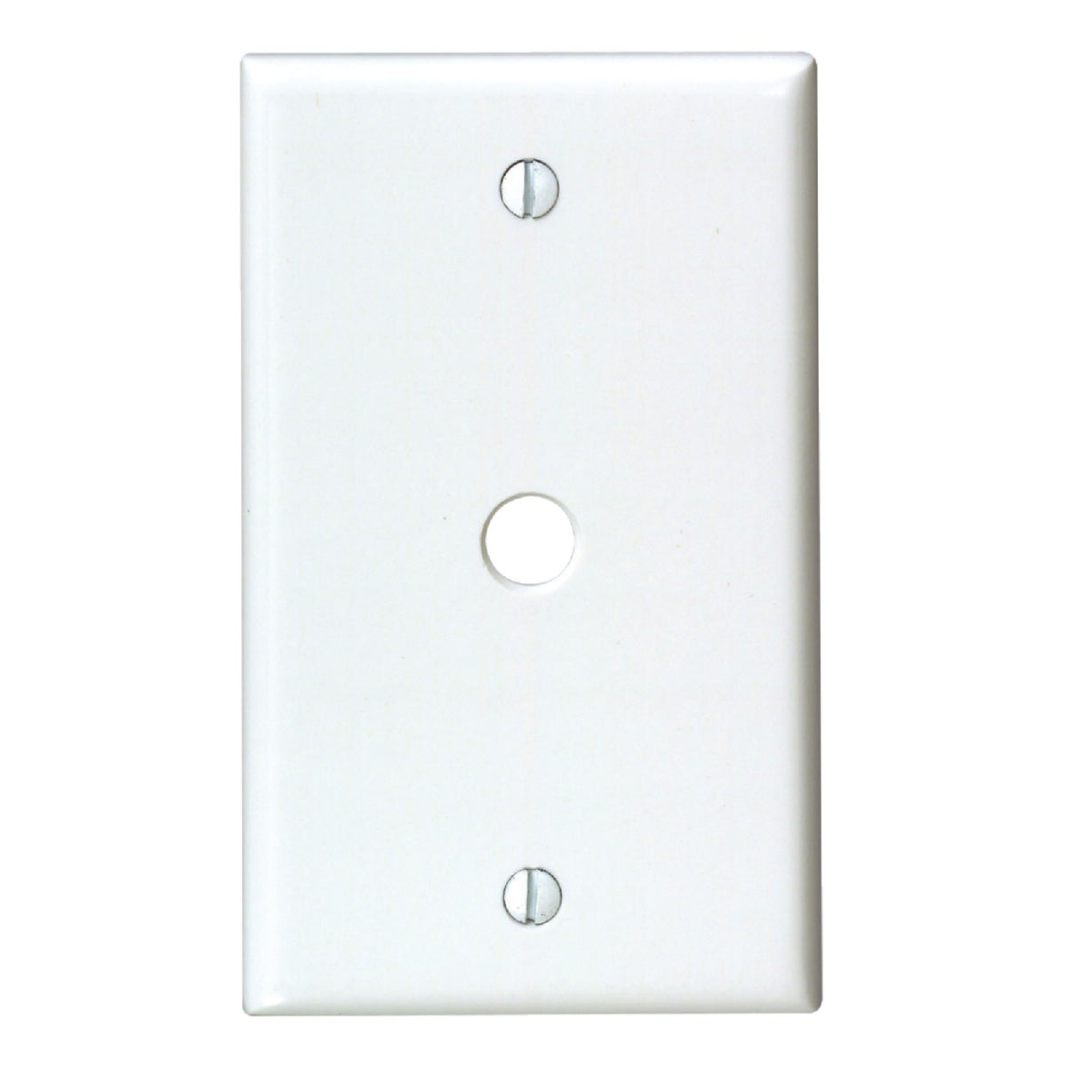 WHT PHONE WALL PLATE - 88013 by Leviton Mfg Co