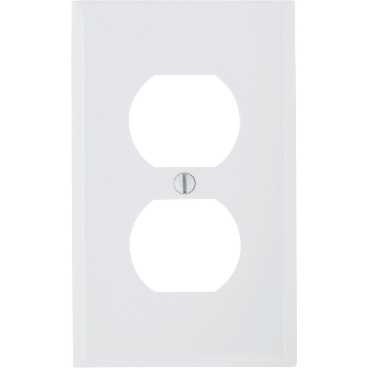 WHT DUP OUTLET WALLPLATE - 80703W by Leviton Mfg Co