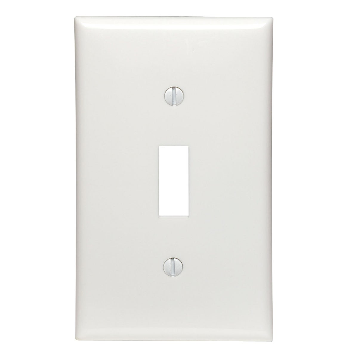 WHT 1-TOGGLE WALL PLATE - 80701W by Leviton Mfg Co