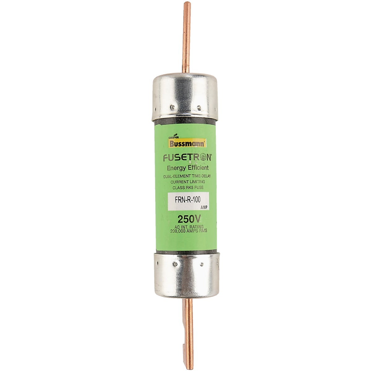 100A TD CARTRIDGE FUSE - FRN-R-100 by Bussmann Cooper