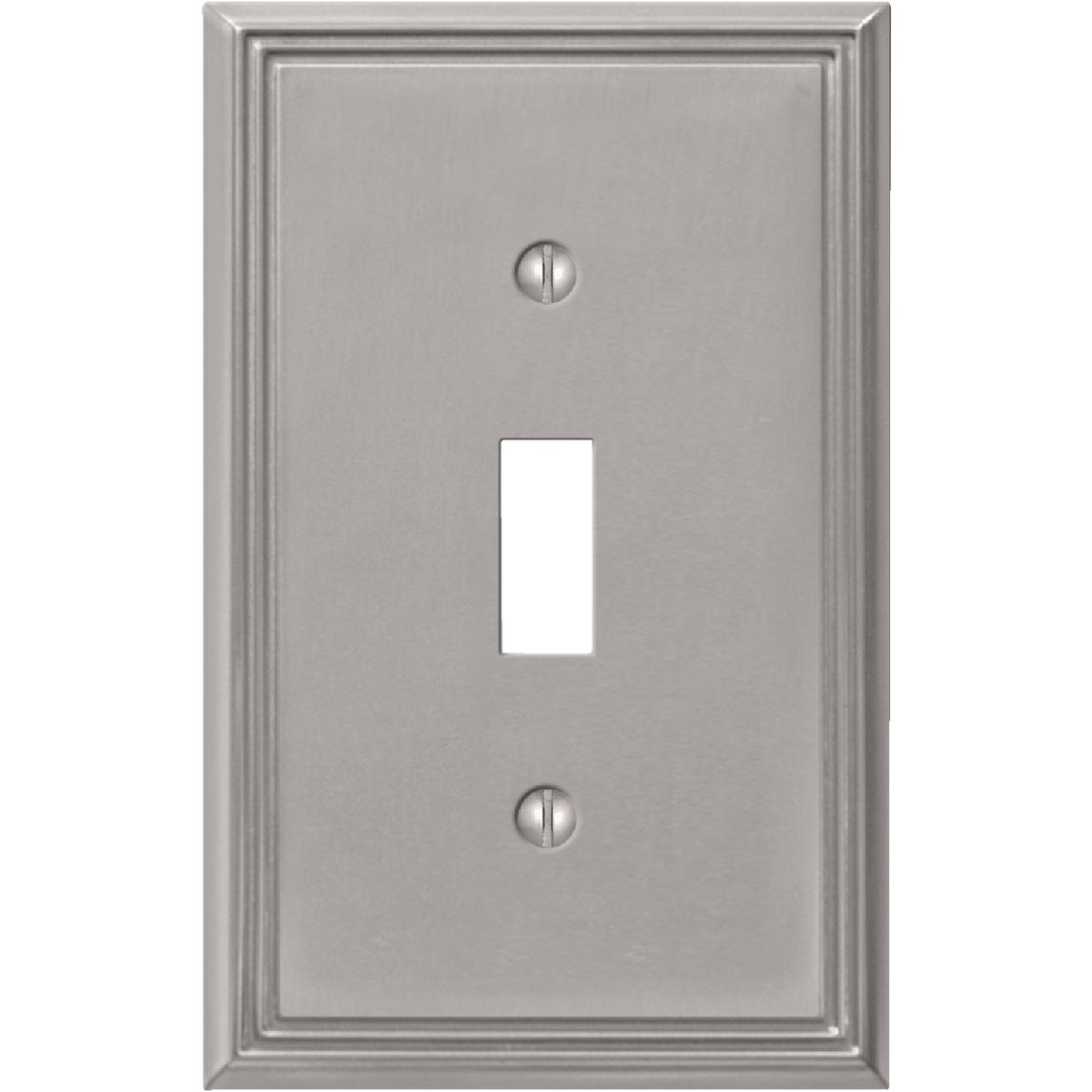 BN 1-TOGGLE WALLPLATE - 3101BN by Jackson Deerfield Mf