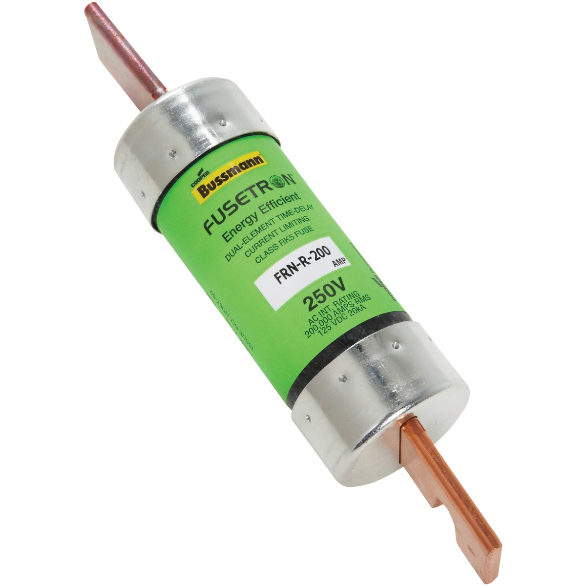 200A TD CARTRIDGE FUSE - FRN-R-200 by Bussmann Cooper