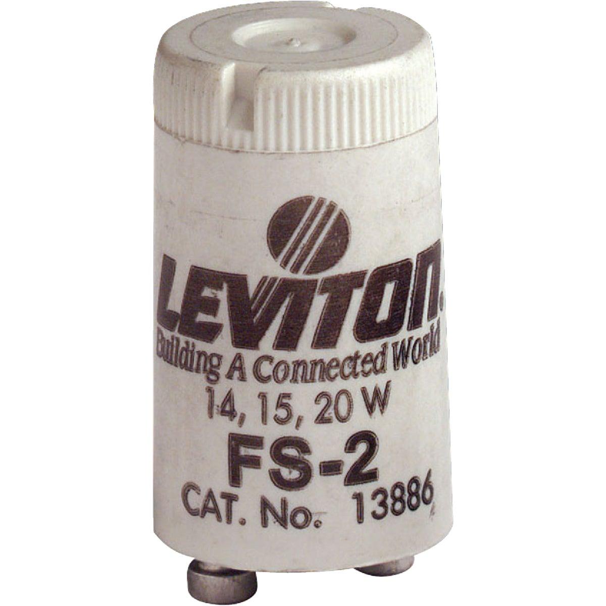 Leviton 14W/15W/20W 2-Pin T8 Fluorescent Starter