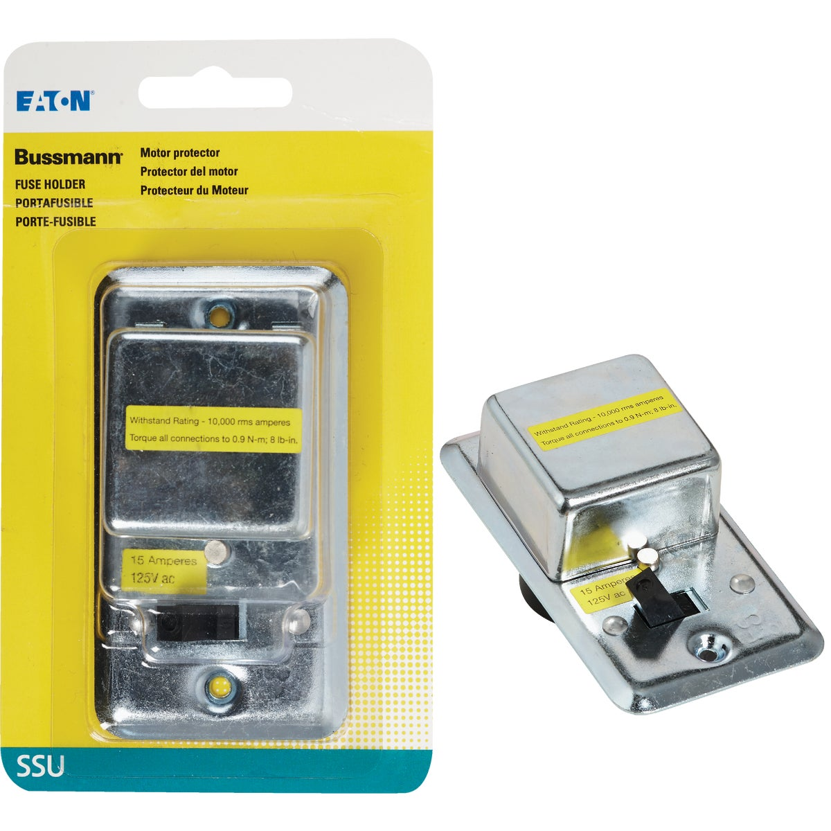 SWITCH/FUSE HOLDER - BPSSU by Bussmann Cooper