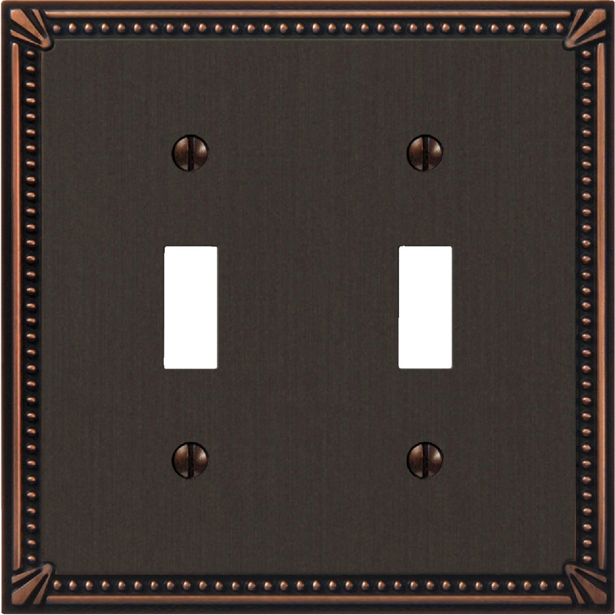AB 2-TOGGLE WALLPLATE - 3002AZ by Jackson Deerfield Mf