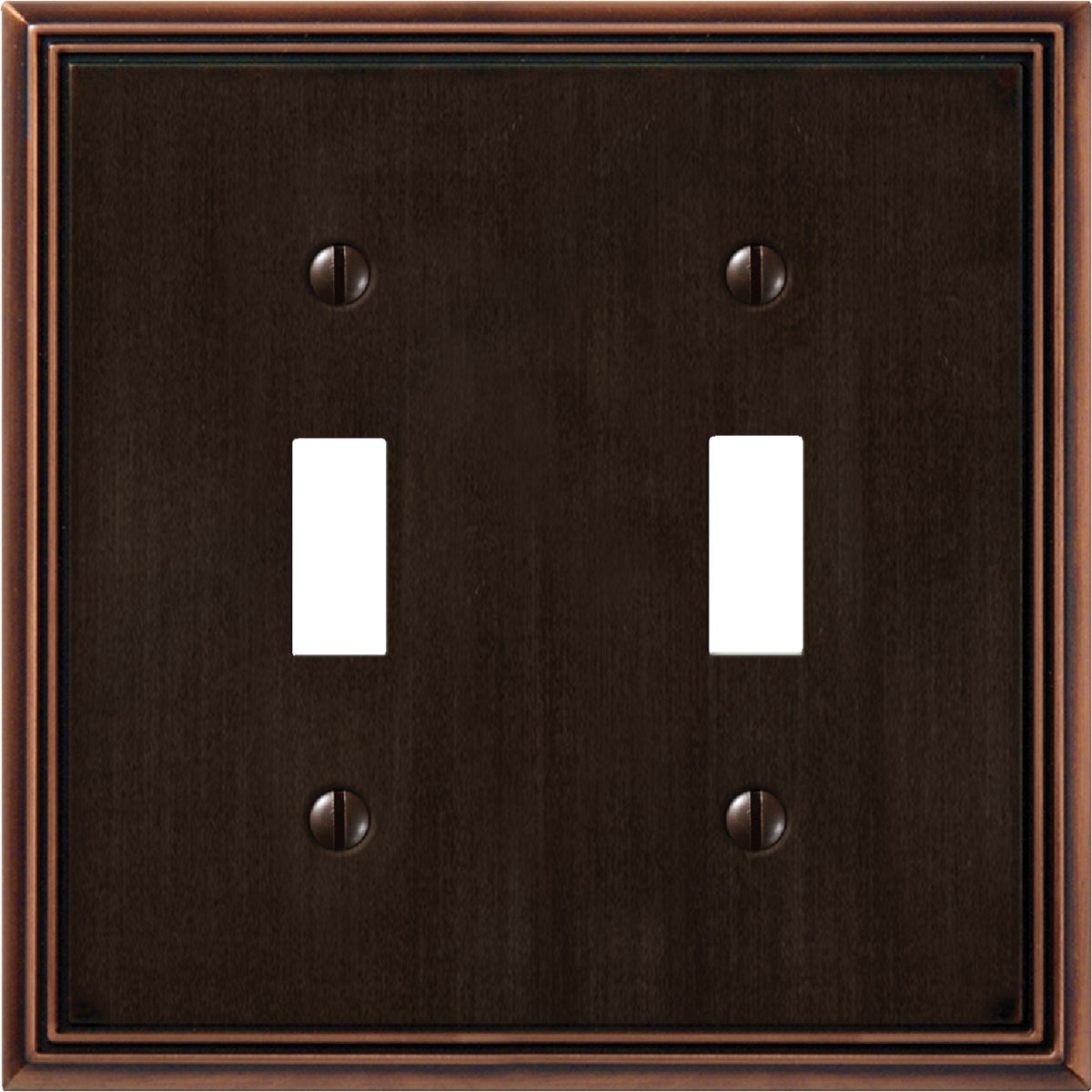 AB 2-TOGGLE WALLPLATE - 3102AZ by Jackson Deerfield Mf