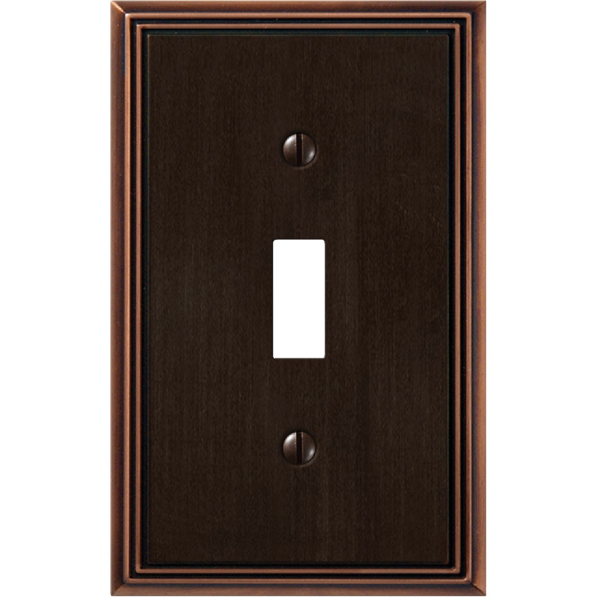 AB 1-TOGGLE WALLPLATE - 3101AZ by Jackson Deerfield Mf