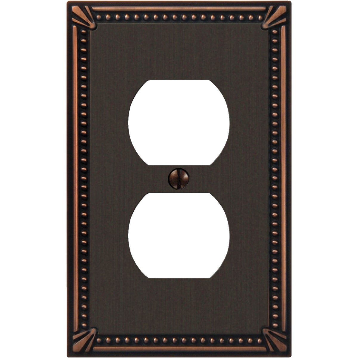 AB OUTLET WALLPLATE - 3008AZ by Jackson Deerfield Mf