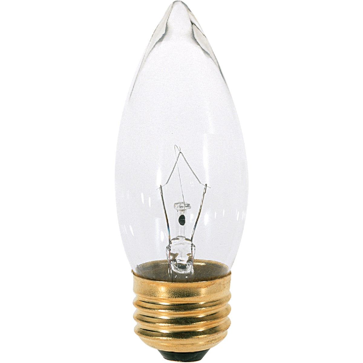 40W 2PK CLR CANDLE BULB - 12993 40BM by G E Lighting