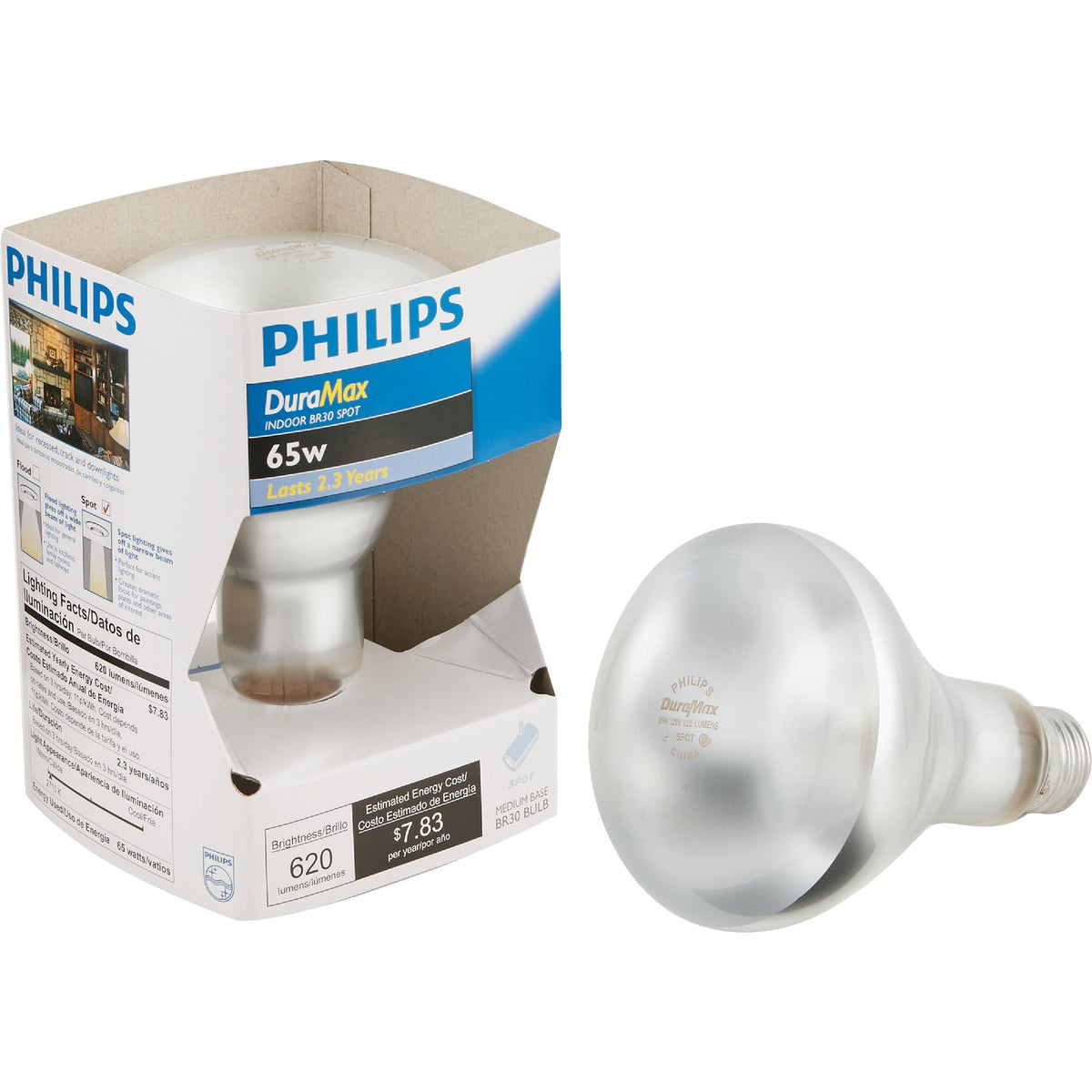 65W REFLECTOR BULB - 20332 by G E Lighting