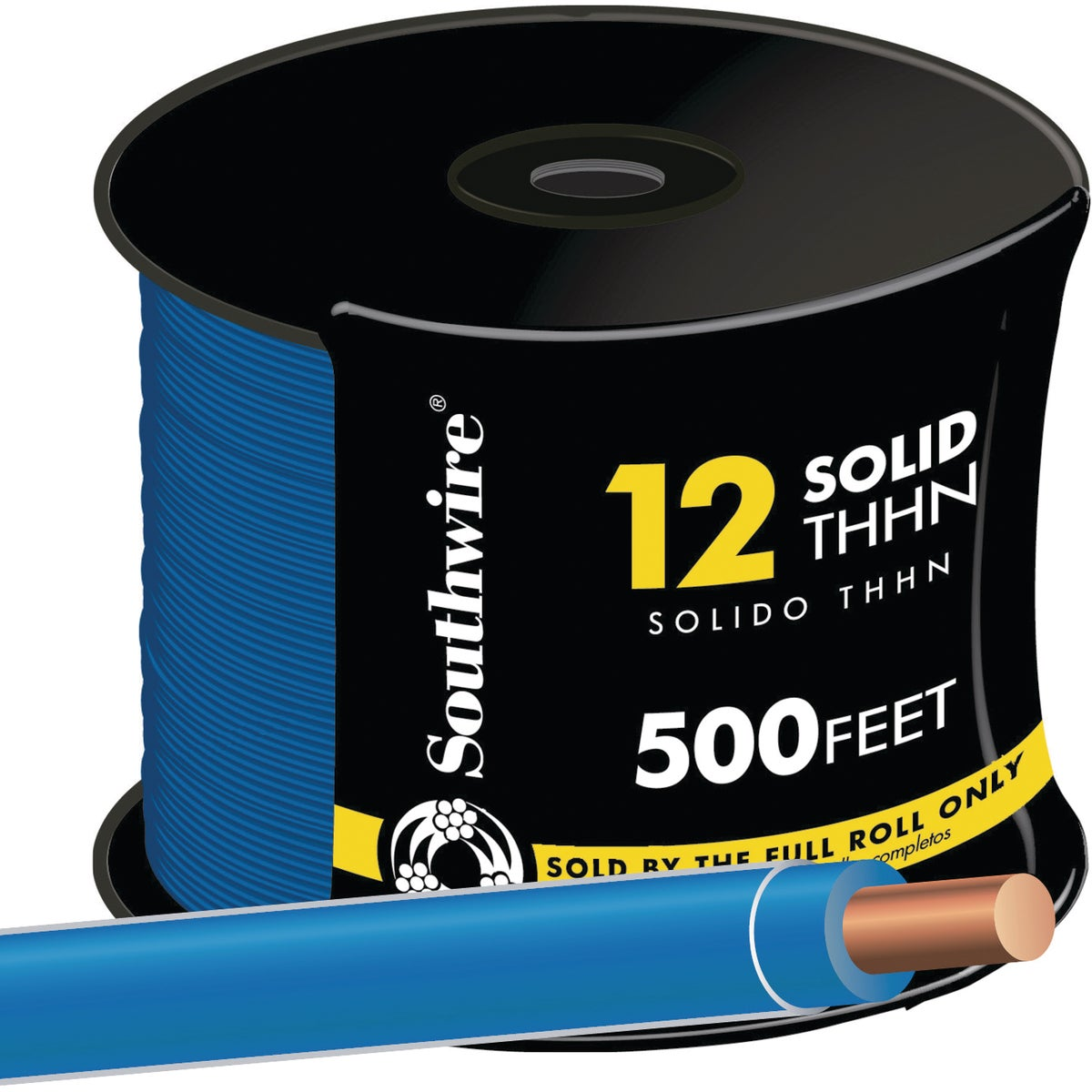 500' 12SOL BLU THHN WIRE - 11590758 by Southwire Company