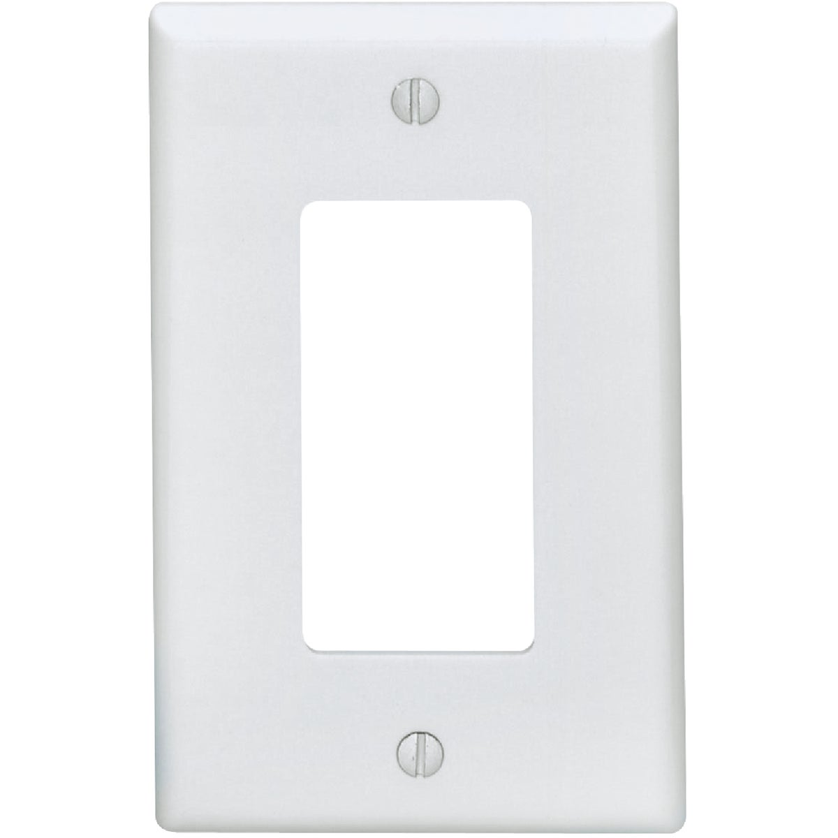 WHT WALL PLATE - 021-80601-W by Leviton Mfg Co