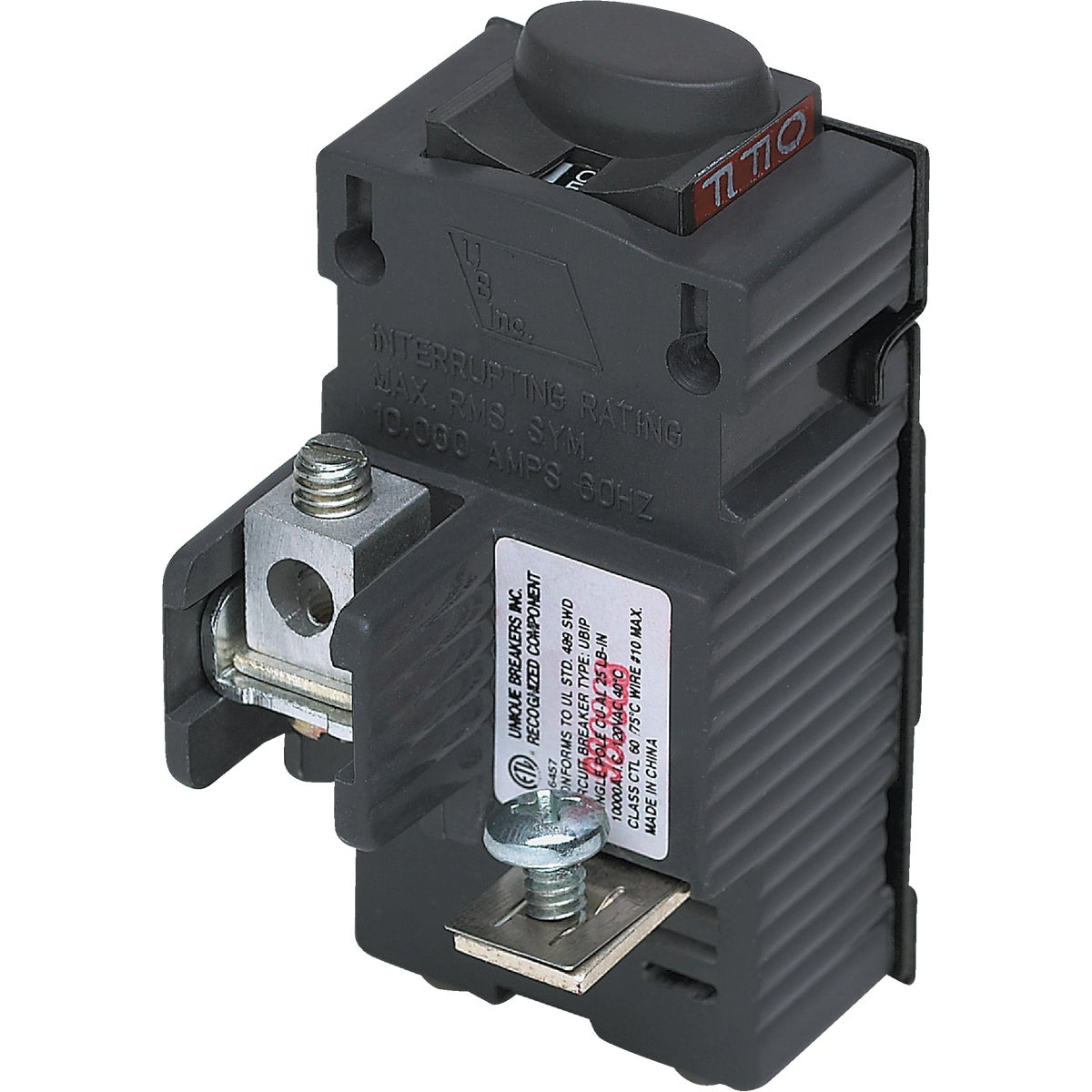 15A SP CIRCUIT BREAKER - UBIP115 by Connecticut Electric