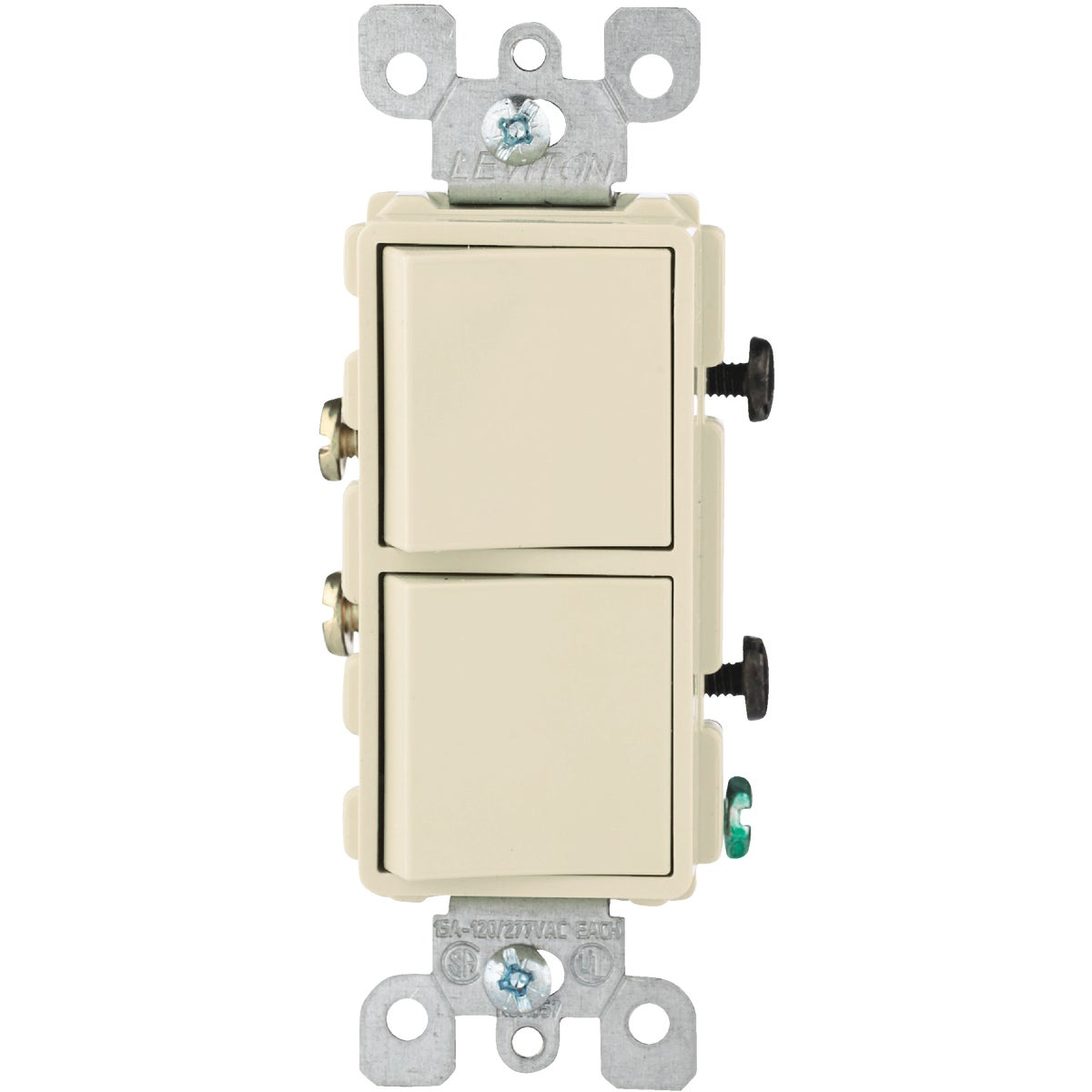 IVORY DUPLEX SWITCH - R51-05634I by Leviton Mfg Co