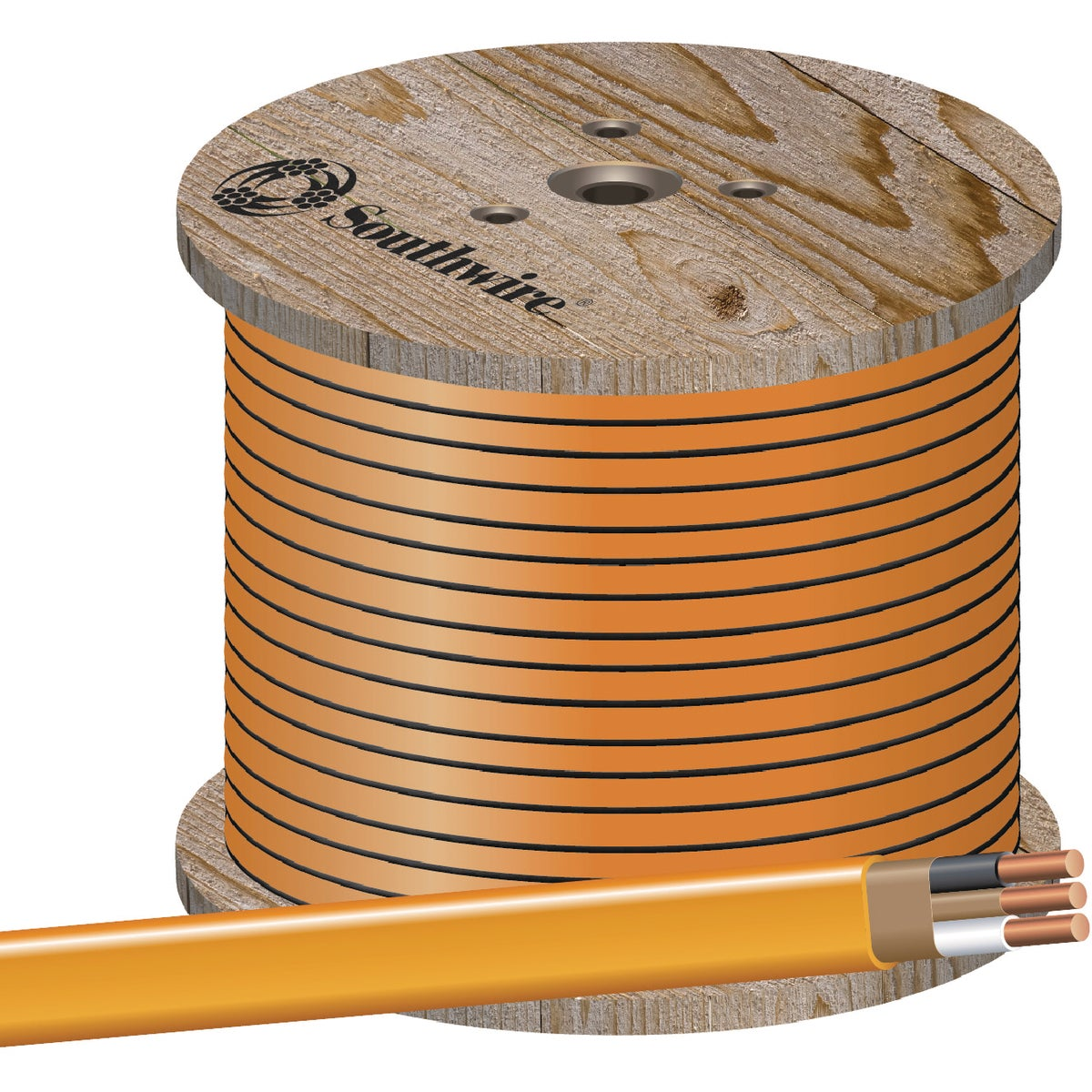 1000' 10-2 NMW/G WIRE - 28829001 by Southwire Company