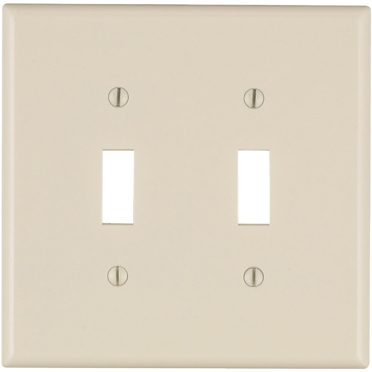 LT ALM 2TGL WALLPLATE - 005-80509-00T by Leviton Mfg Co