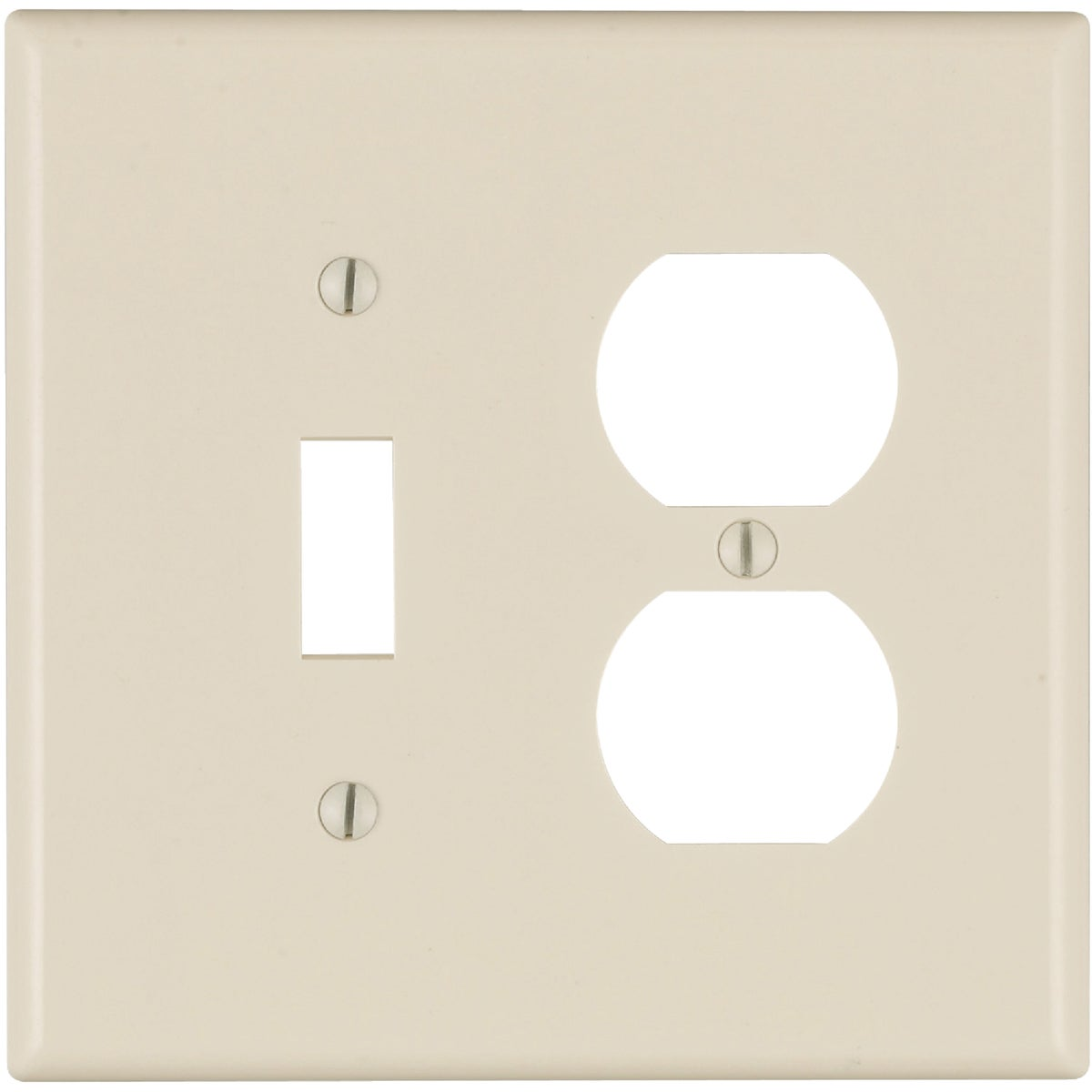 LT ALM COMBO WALLPLATE - 005-80505-00T by Leviton Mfg Co