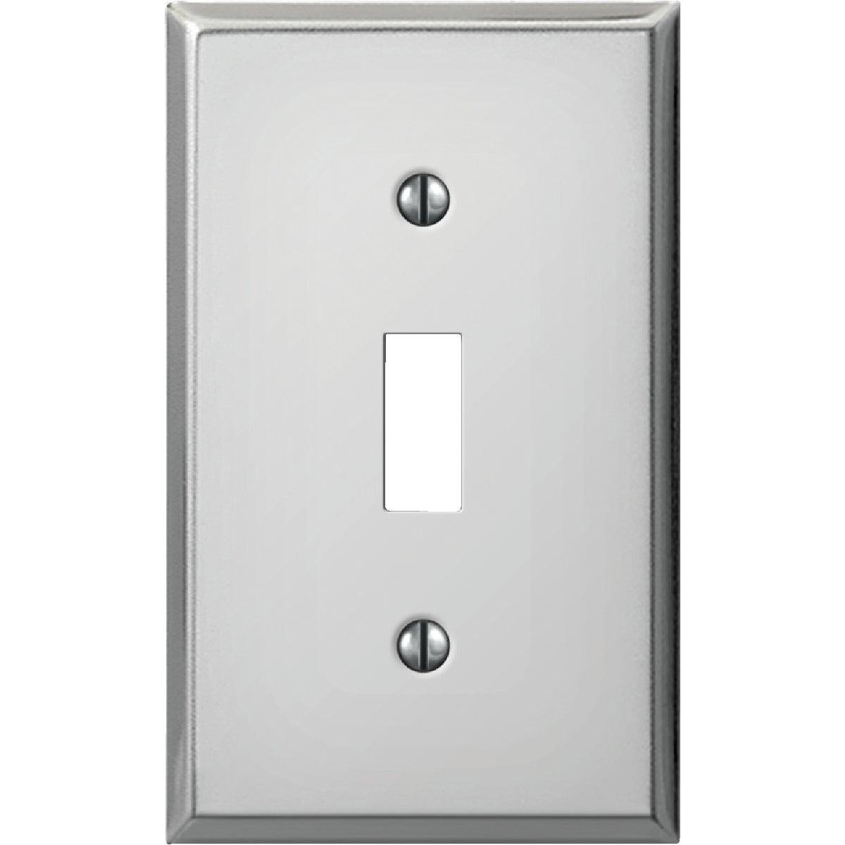 Jackson-Deerfield Mfg. Pro-Polished Chrome Steel Switch Wall Plate