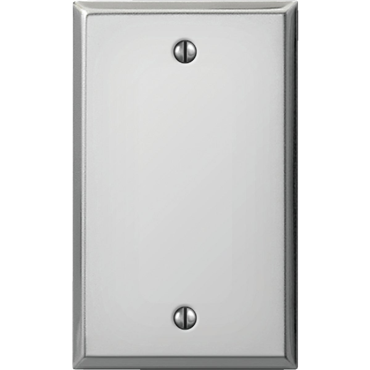 CHR BLANK STL WALL PLATE - 8CS100 by Jackson Deerfield Mf