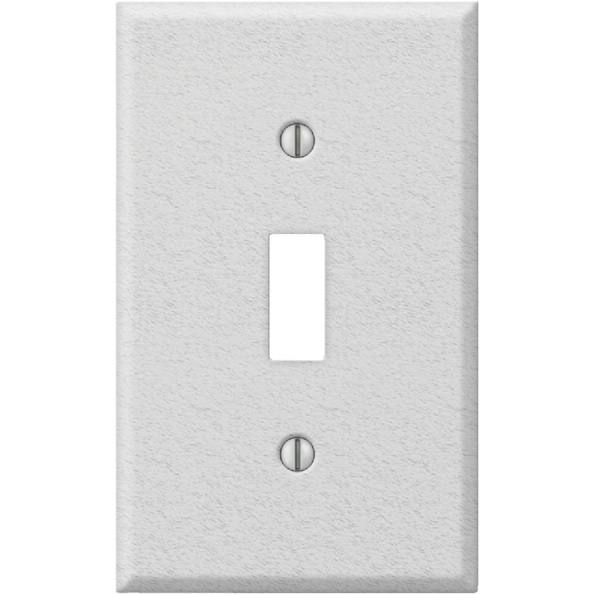 WHT SWITCH WALL PLATE - 8WK101 by Jackson Deerfield Mf