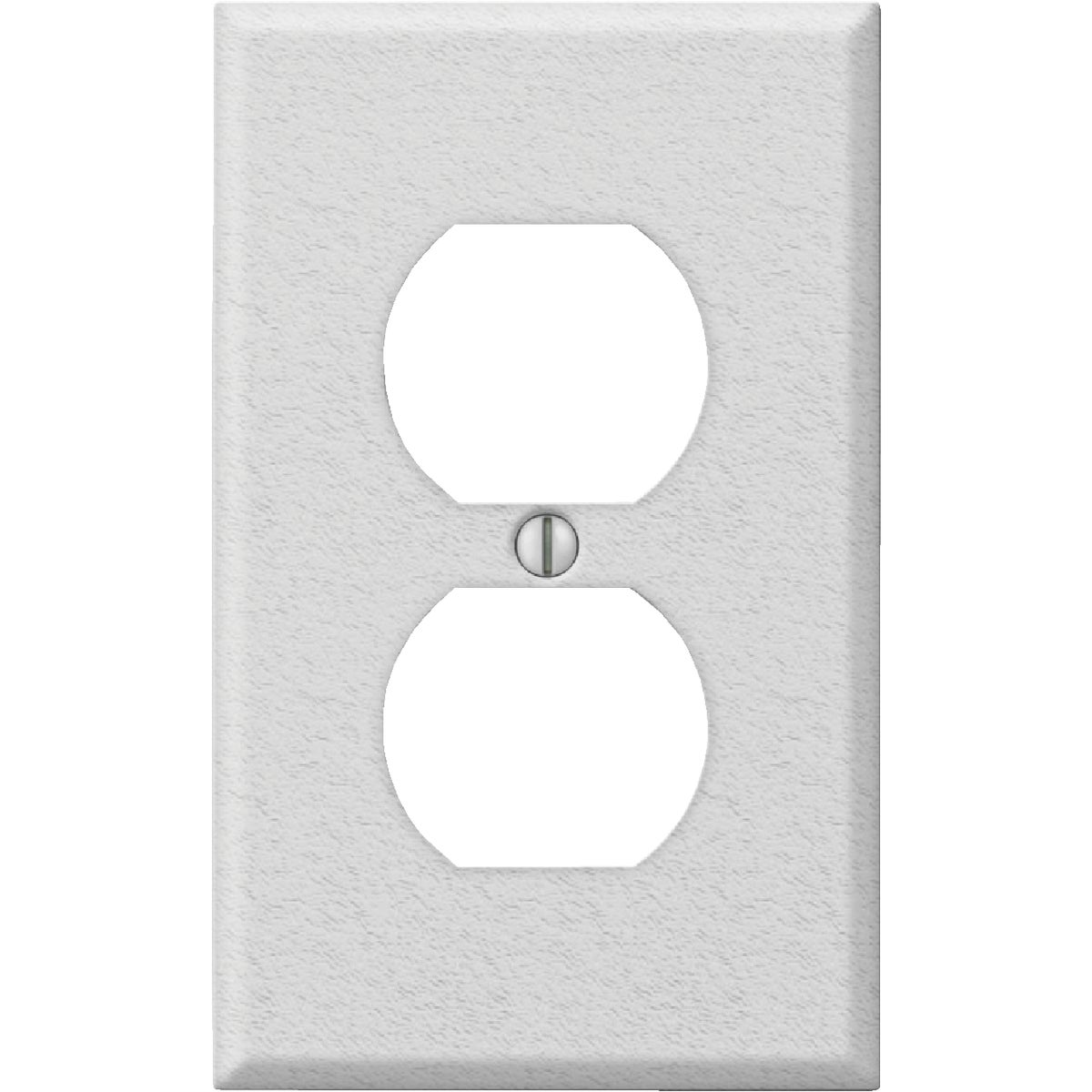 WHT OUTLET WALL PLATE - 8WK108 by Jackson Deerfield Mf