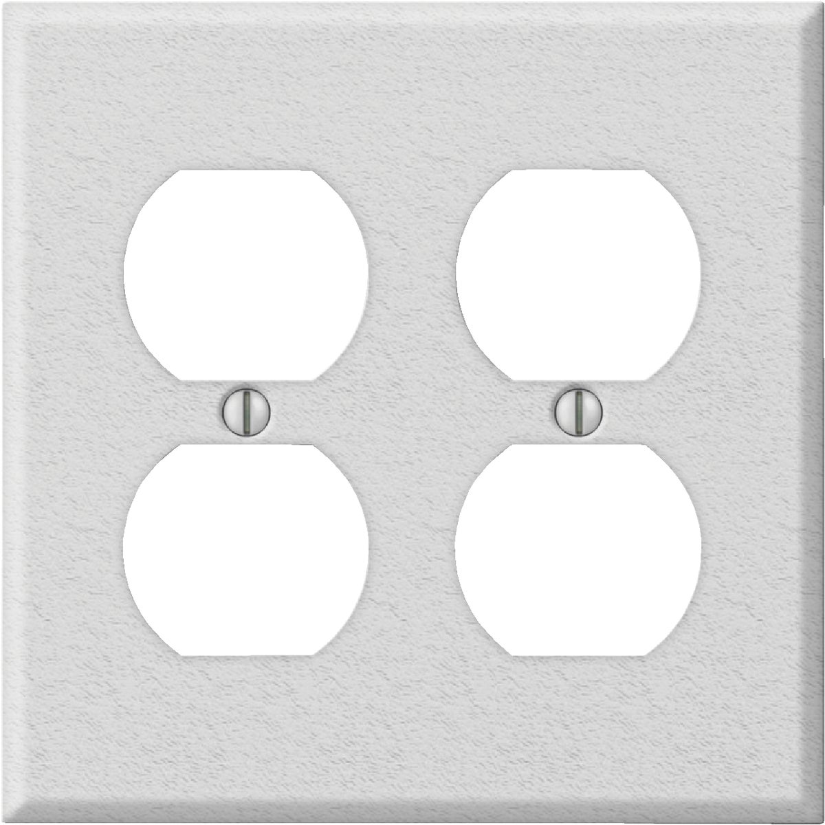 WHT DBL OUTLT WALL PLATE - 8WK118 by Jackson Deerfield Mf
