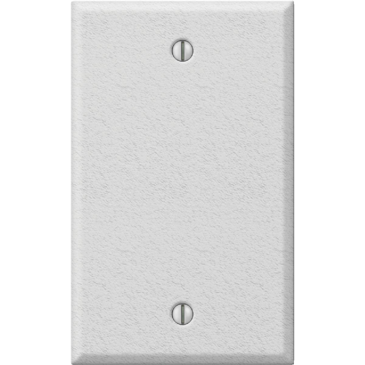 WHT BLANK STL WALL PLATE - 8WK100 by Jackson Deerfield Mf