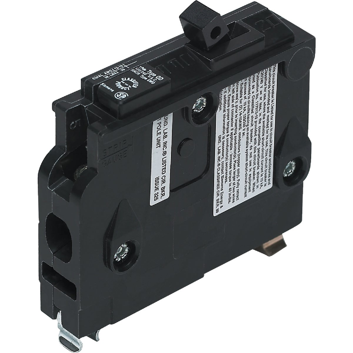 15A SP CIRCUIT BREAKER - D115 by Connecticut Electric