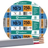 Southwire 250' 10-3 UFW/G WIRE 13059155