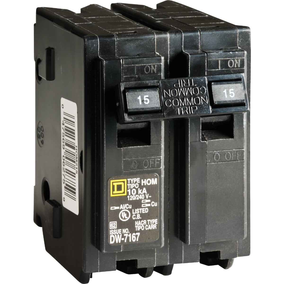 15A 2POLE BREAKER - HOM215CP by Square D Co