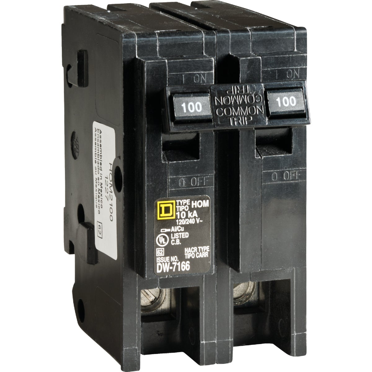 100A MAIN BREAKER - HOM2100CP by Square D Co