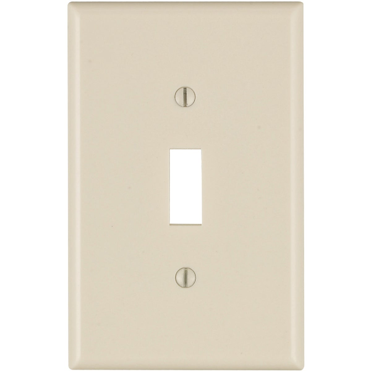 LT ALM 1-TGL WALLPLATE - 025-80501-00T by Leviton Mfg Co
